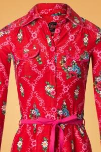 Tante Betsy Red Floral Dress 106 27 25430 20180727 0002V
