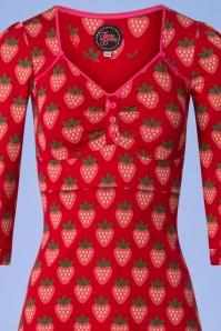 Tante Betsy Lola Strawberry Dress in Red 106 27 25441 20180727 0001V