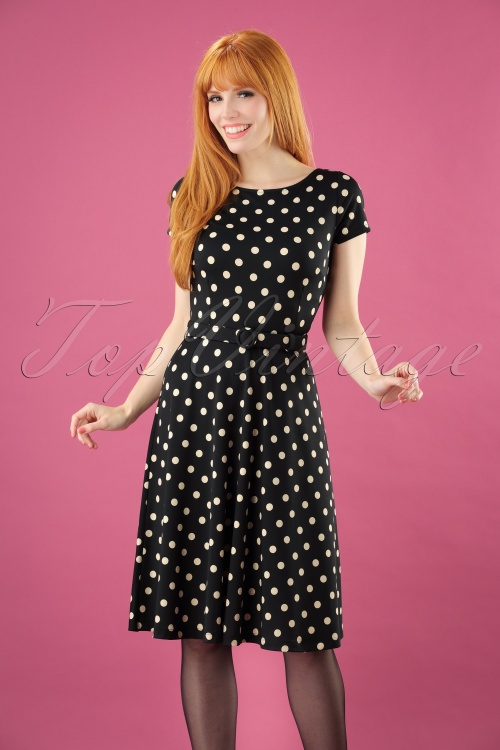 King Louie  Betty Polkadot Dress  23094 20150121 07W