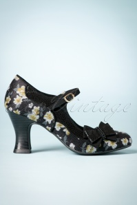 60s Camilla Pumps in Black