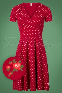 Blutsgeschwister Polka Lady Red Dress 102 29 26044 20180731 0001W1
