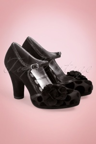 50s Hannah Nero Pumps in Black