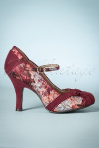 Ruby Shoo Pump Cleo in Burgundy 400 69 25101 20180801 0004w