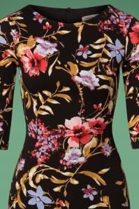 Vintage Chic Signature Style Floral Pencil Dress 100 14 26440 20180801 0002V