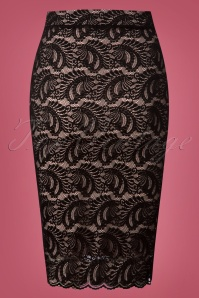 Vintage Chic Lace Pencil Skirt 120 10 26354 20180801 0006W