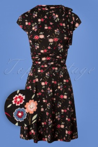 Retrolicious Natasha Bow Floral Dress 26090 20180803 0002W1