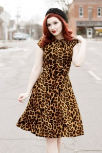 Retrolicious Leopard Bow Dress 25850 20180803 0007