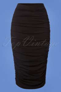 TopVintage Boutique Collection Black Bodycon Skirt 120 10 26360 20180719 0001w