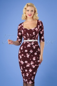 Vintage Chic Floral Pencil Dress 100 69 26345 20180706 0004W