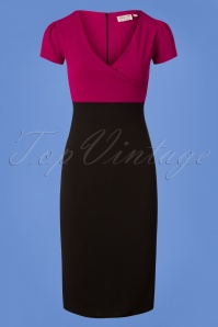 Vintage Chic Purple Pencil Dress 100 22 26337 20180706 0003W