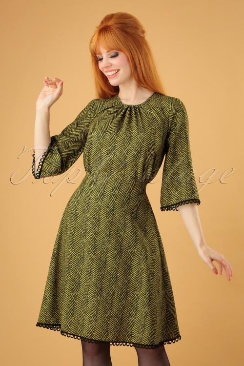 Closet London Green Stripes Dress 106 49 26606 20180717 0014w