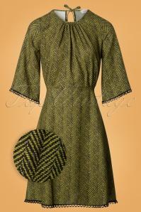Closet London Green Stripes Dress 106 49 26606 20180717 0002wv
