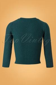 Mak Sweater 50s Jennie Peacock Cardigan 140 40 26694 20180806 0005W