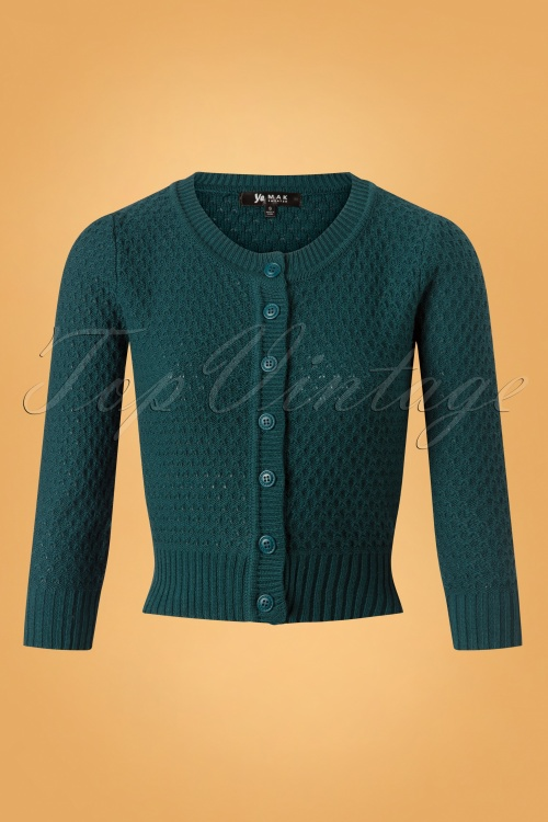 Mak Sweater 50s Jennie Peacock Cardigan 140 40 26694 20180806 0003W