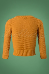 Mak Sweater 50s Jennie Bronze Cardigan 140 80 26691 20180806 0005W