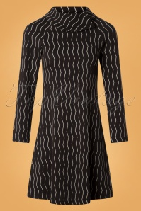 Froy and Dind Rachel Black Striped Dress 25419 20180803 0001W