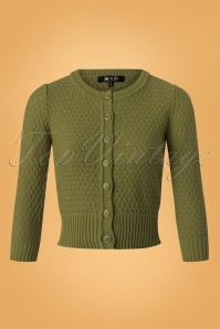 50s Jennie Cardigan in Olive