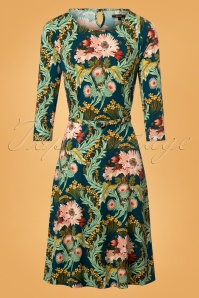 King Louie Betty Dress Baroque in Oriental Print 25366 20180620 0002W