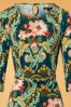 King Louie Betty Dress Baroque in Oriental Print 25366 20180620 0002V