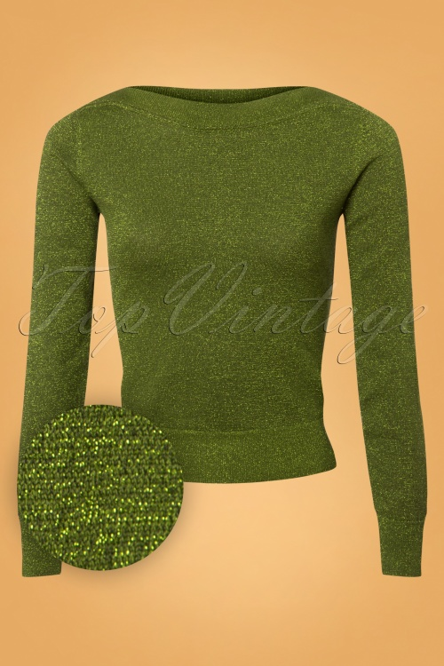 King Louie Audrey Top Lapis in Posey Green 25353 20180621 0019W1