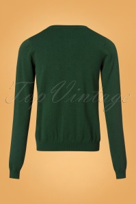 King Louie Cardi Roundneck Droplet in Green 25295 20180723 0009w