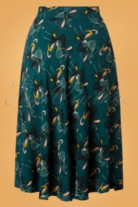 King Louie Dragonfly Green Circle Skirt 122 39 25315 20180807 0003W