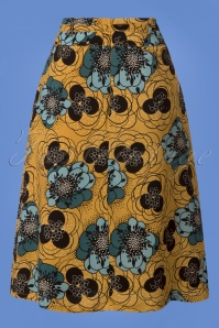 King Louie Cecil Skirt in Sunset Yellow 123 89 25301 20180807 0003w