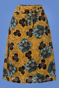 King Louie Cecil Skirt in Sunset Yellow 123 89 25301 20180807 0001w
