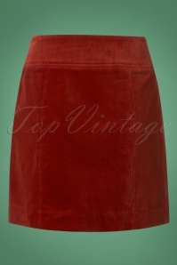 King Louie Lucie Skirt in Sienna Red 120 20 25293 20180807 0005w