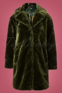 King Louie Alba Coat in Oasis Green 152 40 25351 20180806 0002W
