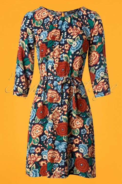 King Louie 70s Floral Billie Dress  100 39 25231 20180807 0001w