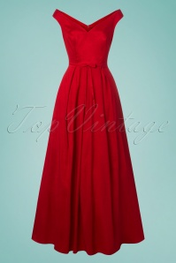 Collectif Clothing Miss Scarlet Maxi Dress in Red 22551 20171120 0004W
