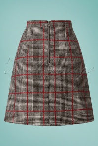 Louche Lamont Checked Skirt 123 19 25939 20180809 0006w