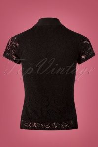 Vintage Chic Rose Lace Bow Top 110 10 26353 20180808 0007w