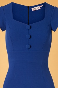 Vintage Chic 50s Sandy Dress Blue 100 30 26405 20180810 0001V
