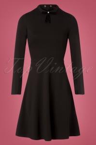 Bunny Ricci Dress in Black 100 10 25844 20180810 0015W