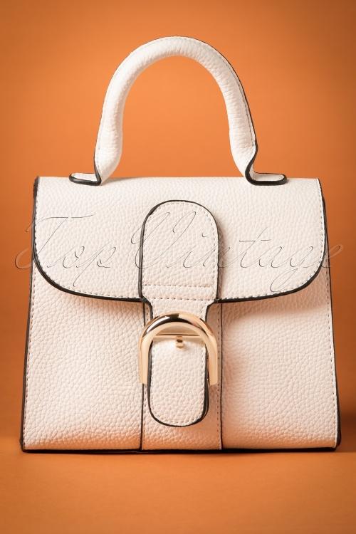 La Parisienne Handbag in White 212 50 26738 20180803 0008w