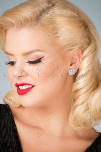 Lovely Audrey Post Earrings 330 51 26487 model picture 07122018 007W