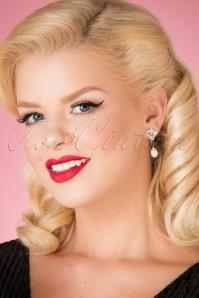Lovely Crystal Earrings 333 51 26489 model picture 07122018 005W
