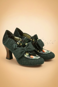 40s Astrid Pumps in Green