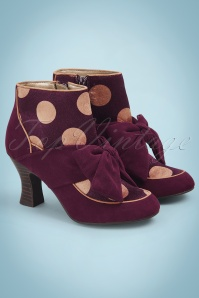 Ruby Shoo Seren Bootie in Burgundy 400 69 25124 20180809 0003w