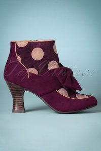 Ruby Shoo Seren Bootie in Burgundy 400 69 25124 20180809 0001w