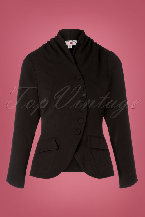 Miss Candyfloss Black Jacket 153 10 26295 20180814 0001W