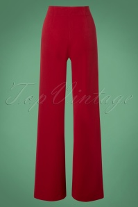 Very Cherry Marlene Pants in Red 131 20 25670 20180815 0003W