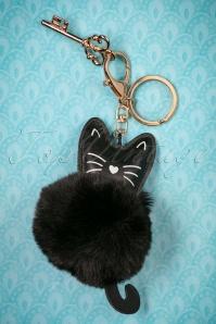 Louche Cassy Cat Keyring 290 10 25880 20180816 0012w