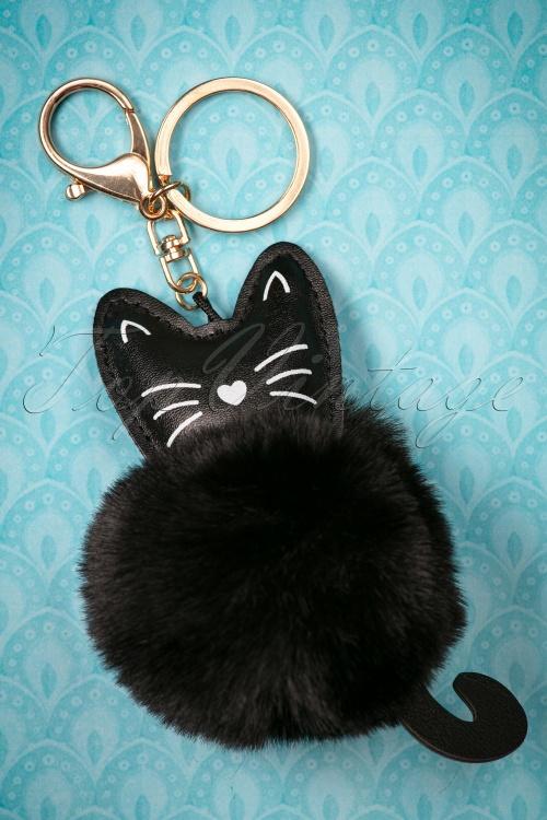 Louche Cassy Cat Keyring 290 10 25880 20180816 0005w