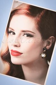Louche Stephanie Blue Earrings 333 39 25856 20180816 0016w