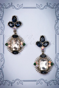 Louche Stephanie Blue Earrings 333 39 25856 20180816 0010w
