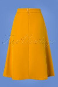 Mademoiselle Yeye Yellow Plate Skirt 122 80 25526 20180817 0005w