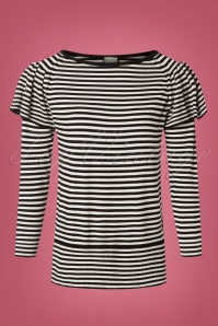 Mademoiselle Yeye Striped Top 113 14 25529 20180817 0001W